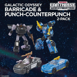 Galactic Odessy Barricade & Punch-Counterpunch [2-pack]