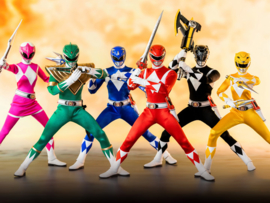 Mighty Morphin Power Rangers FigZero AF 1/6 Power Rangers [Set of 6] - Pre order