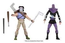 Teenage Mutant Ninja Turtles AF 2-Pack Casey Jones & Foot Soldier - Pre order