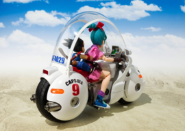 Dragon Ball S.H. Figuarts Vehicle with Figure Bulma's Motorcycle Hoipoi Capsule No. 9 - Pre order