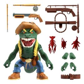 Super7 Teenage Mutant Ninja Turtles Ultimates Leatherhead - Pre order