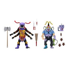 Neca Teenage Mutant Ninja Turtles AF 2-Pack Antrax & Scumbug - Pre order