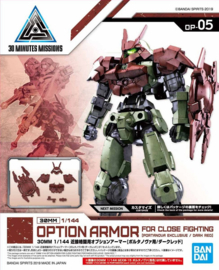 1/144 30MM Portanova Exclusive Option Armor: Close Fighting [Dark Red]