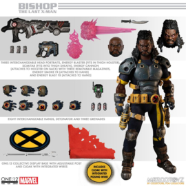 Mezco Marvel Action Figure 1/12 Bishop - Pre order
