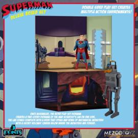 Mezco Superman The Mechanical Monsters (1941) 5 Points AF Deluxe Box Set - Pre order