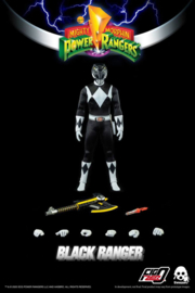 Mighty Morphin Power Rangers FigZero AF 1/6 Black Ranger - Pre order