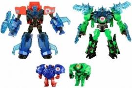 Takara TAV-45 Optimus Prime & Grimlock - Supreme Armor Set