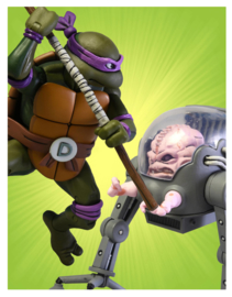 NECA TMNT Action Figure 2-Pack Donatello vs Krang