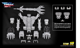 Transform Dream Wave TCW-10 Upgrade Set for Seacons - Pre order
