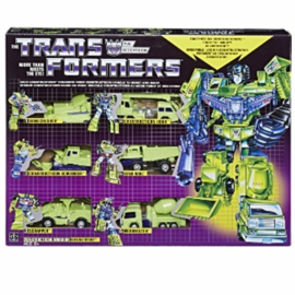Transformers G1 Reissue Constructicons Gift Set