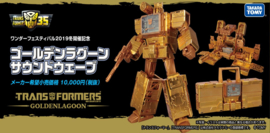 Takara Golden Lagoon Soundwave