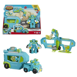 Transformers Rescue Bots Academy Command Center Hoist Trailer
