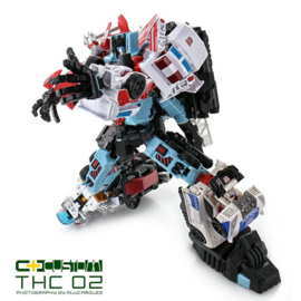 C+ Customs THC-02 Combiner Wars Defensor Add on Set