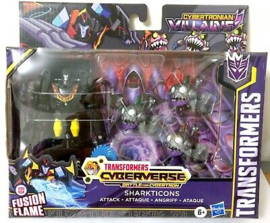 Hasbro Cyberverse Sharkticons Attack Set