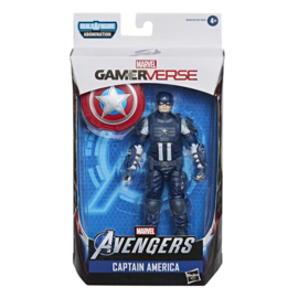 Marvel Legends Captain America (Avengers Video Game)