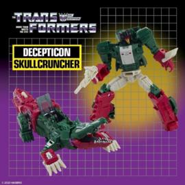 Hasbro Retro Headmasters Deluxe Skullcruncher