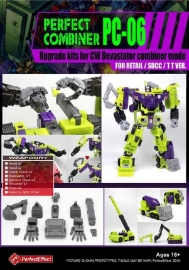 Perfect Effect PC-06 Upgrade set CW Devastator