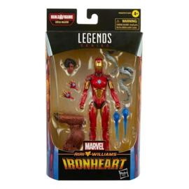 Marvel Legends Comic Series Ironheart [BAF Ursa Major]