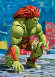 Street Fighter S.H. Figuarts Action Figure Blanka Tamashii Web Exclusive