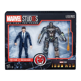 Marvel Legends [Iron Man] 2-Pack Tony Stark & Iron Man Mark I