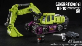Generation Toy GT-01C Navvy