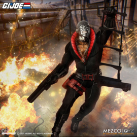 Mezco G.I. Joe Light-Up Action Figure 1/12 Destro - Pre order