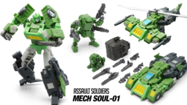 Mechfanstoys MFT MS-01U Springer [Metallic]