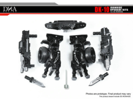 DNA Design DK-10 Upgrade Kit for SS-14 Ironhide