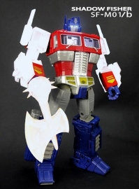 Shadow Fisher SF-M01B Arms, Axe & Chimney Upgrade for MP-10