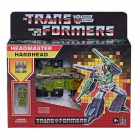 Hasbro Retro Headmasters Deluxe Hardhead