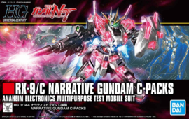 1/144 HGUC RX-9/C Narritive Gundam C-Packs