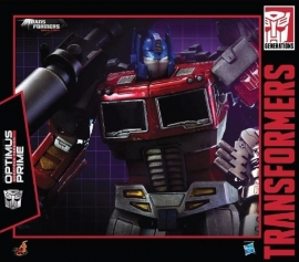 Hot Toys Asia Exclusive Transformers TF002 Optimus Prime Megatron Version