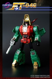Fanstoys FT-04G Scoria  Green Limited Edition 500