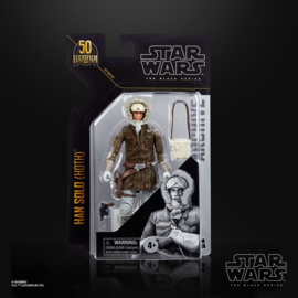 Star wars The Black Series Deluxe Hoth Han Solo 50th Ann.