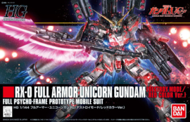 1/144 HGUC RX-0 Full Armor Unicorn Gundam (Destroy Mode/Red Color Ver.)