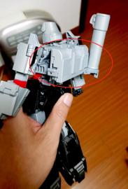 Model-002 Light Head MP-13 Soundwave Add on kit