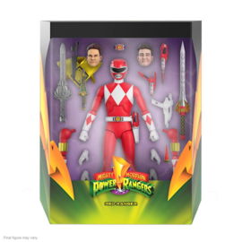 Super7 Mighty Morphin Power Rangers Ultimates AF Red Ranger - Pre order