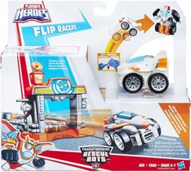 Transformers Rescue Bots Flip Racers Airport Blastoff Blades