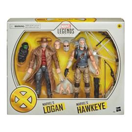 Marvel Legends X-men AF 2020 Old Men Logan & Hawkeye [2-pack]