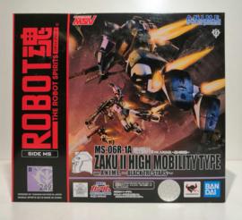 Bandai ROBOT Damashii Zaku R-1A Black