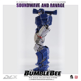 ThreeZero Transformers Bumblebee DLX AF 2-Pack 1/6 Soundwave & Ravage - Pre order