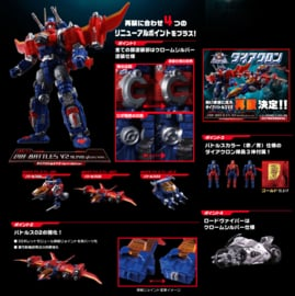Diaclone Reboot DA-11 Dia-Battles V2 (Alpha Plus Version)
