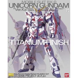 1/100 MG RX-0 Unicorn Gundam Ver. Ka [Titanium Finish]
