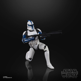 Star Wars Black Episode II Series AF Phase I Clone Trooper Lieutenant