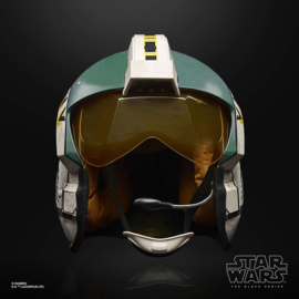 Star Wars Black Series Electronic Wedge Antilles Battle Simulation Helmet