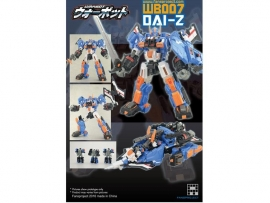 Fansproject Warbot - WB007 Dai-Z