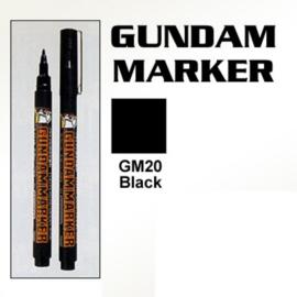 Gundam Marker GM-20 Black Marker