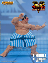 Street Fighter V Champion Edition Action Figure 1/12 E. Honda Nostalgia Costume