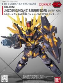 SD Ex-Std: RX-0(N) Unicorn Gundam 02 Banshee Norn [Destroy Mode]