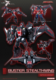 Maketoys MTCD-05SP Buster Stealthwing